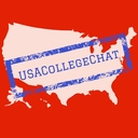 USA College Chat logo