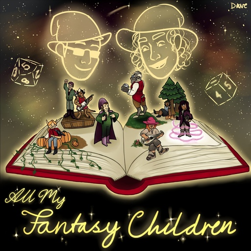 112  Dr Desmond Ace: The Sol Tree All My Fantasy Children podcast