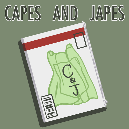 74 Garfield Logan Capes And Japes podcast