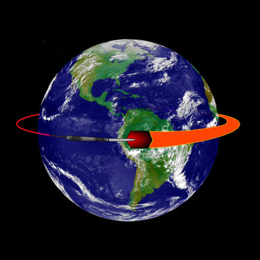 earth going round - HD 1400×1400